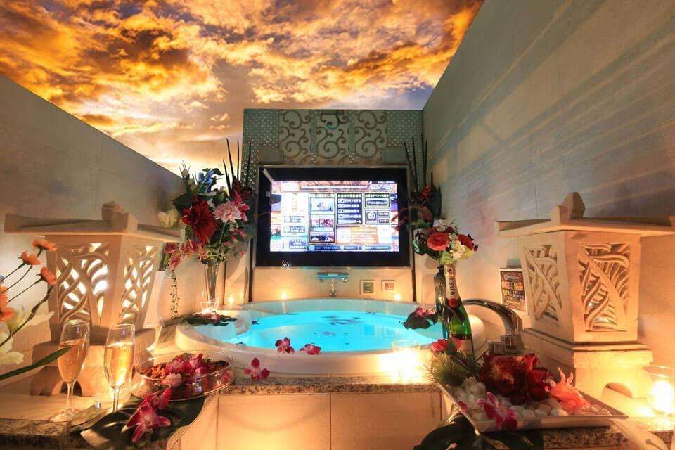 東京都の露天風呂付ラブホテル